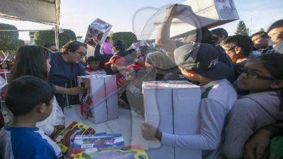 Autoridades y Reyes Magos llevan alegría a los pequeños sanjuanenses
