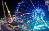 Caen de juego mecánico en la Feria de León
