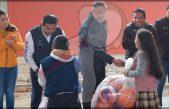 Entregan obras de rehabilitación en primaria de Pedro Escobedo
