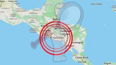 Sismo de 5.3 grados sacude El Salvador
