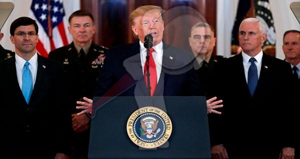Habrá sanciones económicas para Irán tras ataque a tropas: Trump