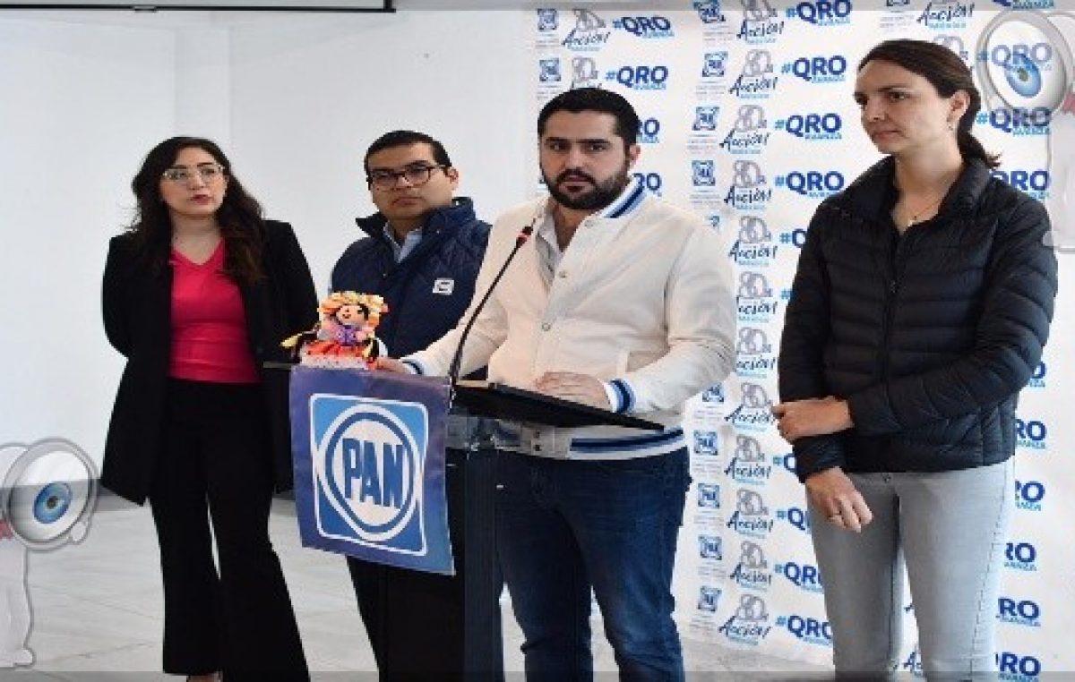 México no tendrá bienestar, si no genera crecimiento: PAN QRO
