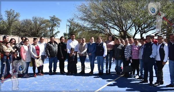 Supervisan mejoras de infraestructura educativa en Pedro Escobedo