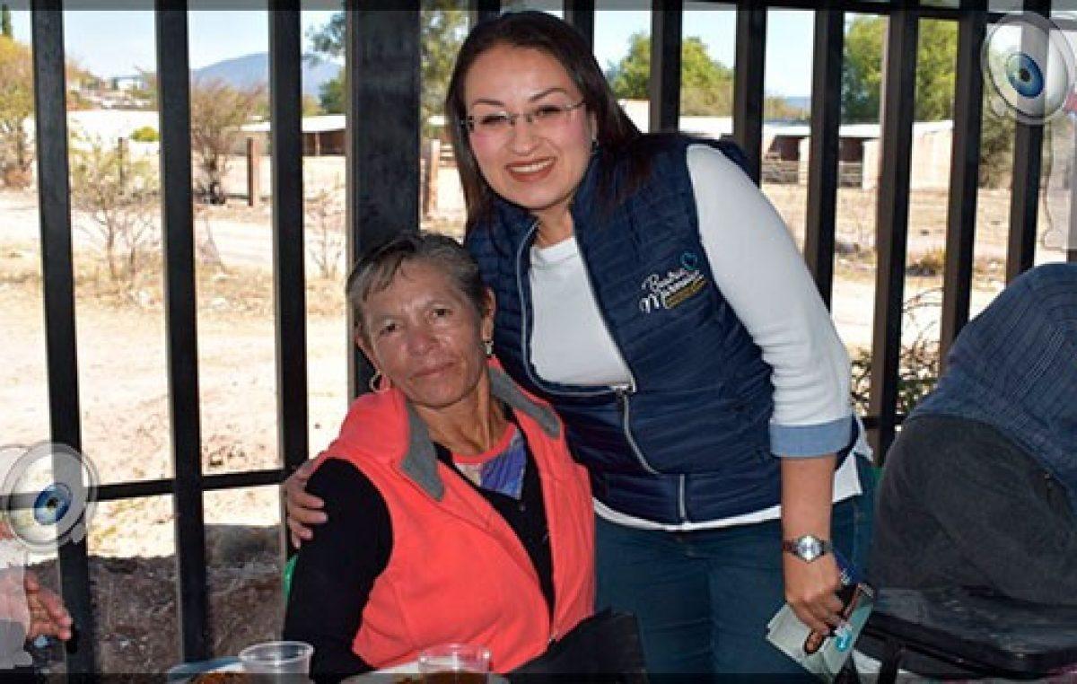 Inicia Beatriz Marmolejo Rojas recorridos con motivo de su Primer Informe