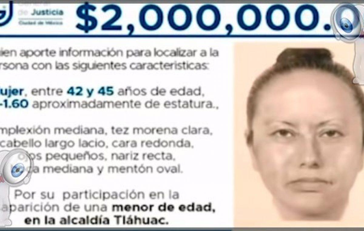 Éste es el retrato hablado de quien robo a Fátima