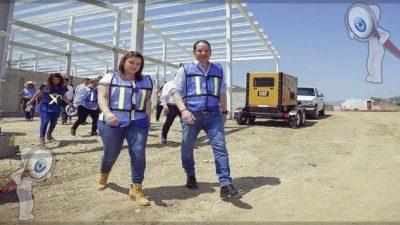 Supervisa Gobernador avance de la construcción del Rastro Regional en Jalpan de Serra