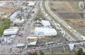 Fuerte accidente bloquea carretera 57 a la altura de Pedro Escobedo