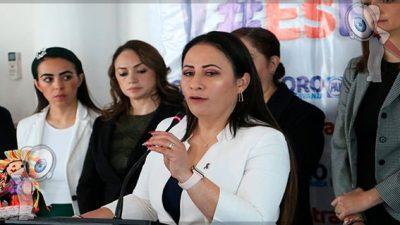 """Vero Hernández destaca participación del """"9 ninguna se mueve"""""""