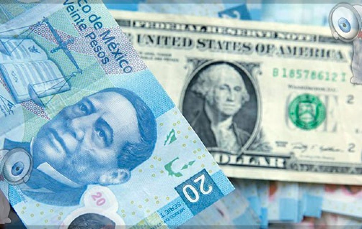 Peso se hunde frente al dólar ante desplome del petróleo y coronavirus