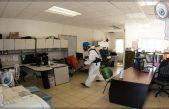 Realizan sanitización en instalaciones municipales de SJR