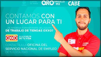 Ofertan 311 empleos en tienda OXXO