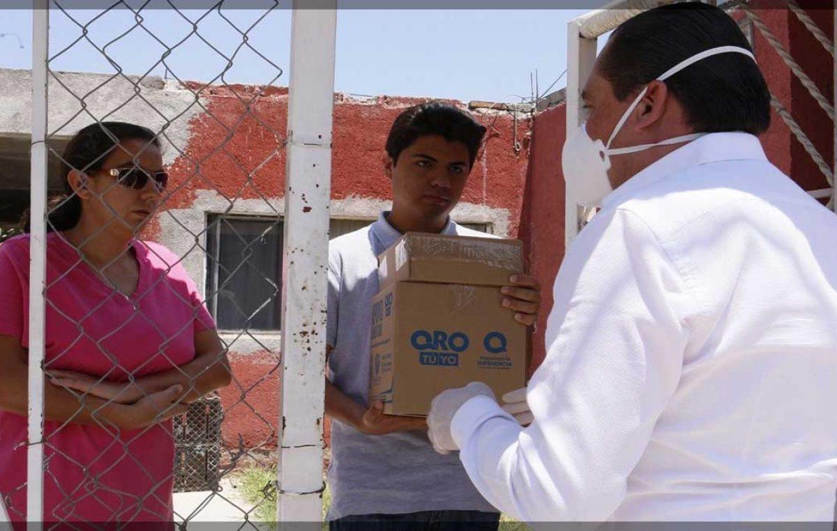 Entrega SEDESOQ cerca de 13 mil apoyos alimentarios en la capital