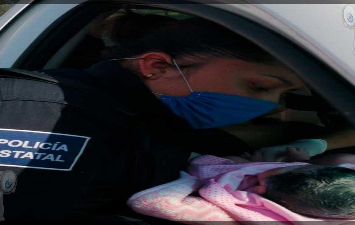 Mujer da a luz a bordo de un automóvil, es apoyada por elementos de la PoEs