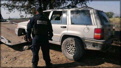 Recupera SSPM vehículo con reporte de robo