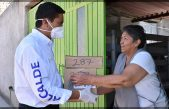 Inicia Amarildo Bárcenas entrega de Apoyos Alimentarios en Escobedo