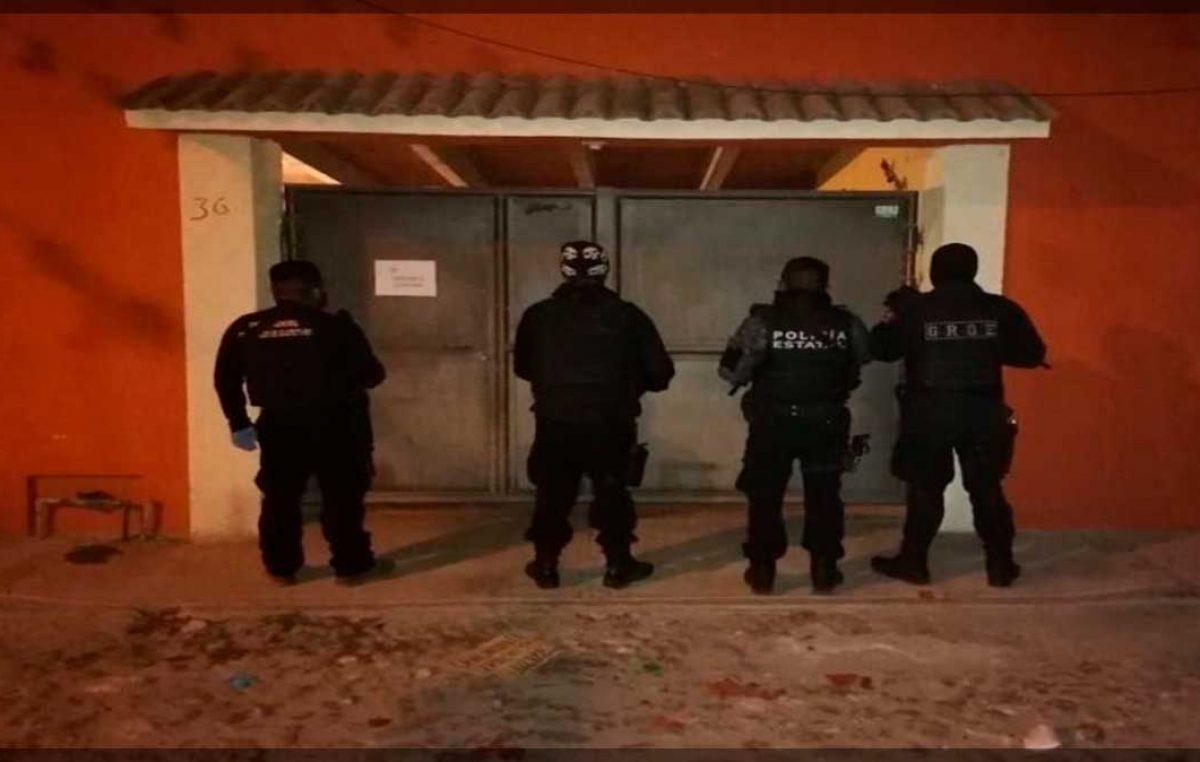Tras realizar 9 cateos en Tequisquiapan, se aseguran a 6 personas