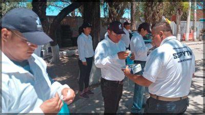 Vigilantes Ciudadanos apoyan a combatir COVID-19 en Escobedo