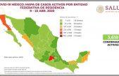En aumento casos de COVID-19 en México, se registran 970 defunciones