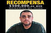 Recompensa de 500 mil pesos, a quien proporcione datos de homicida