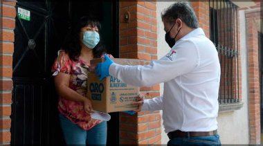 Familias de Tequisquiapan reciben apoyo por contingencia sanitaria