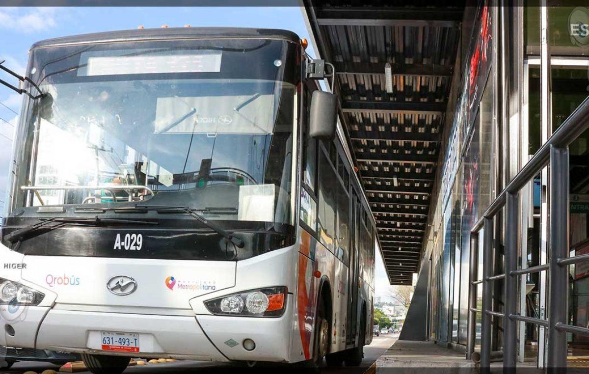 Amplía IQT medidas sanitarias en el transporte público
