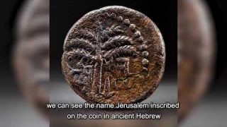 Encuentran moneda de bronce ligada a rebelión Judía contra los Romanos