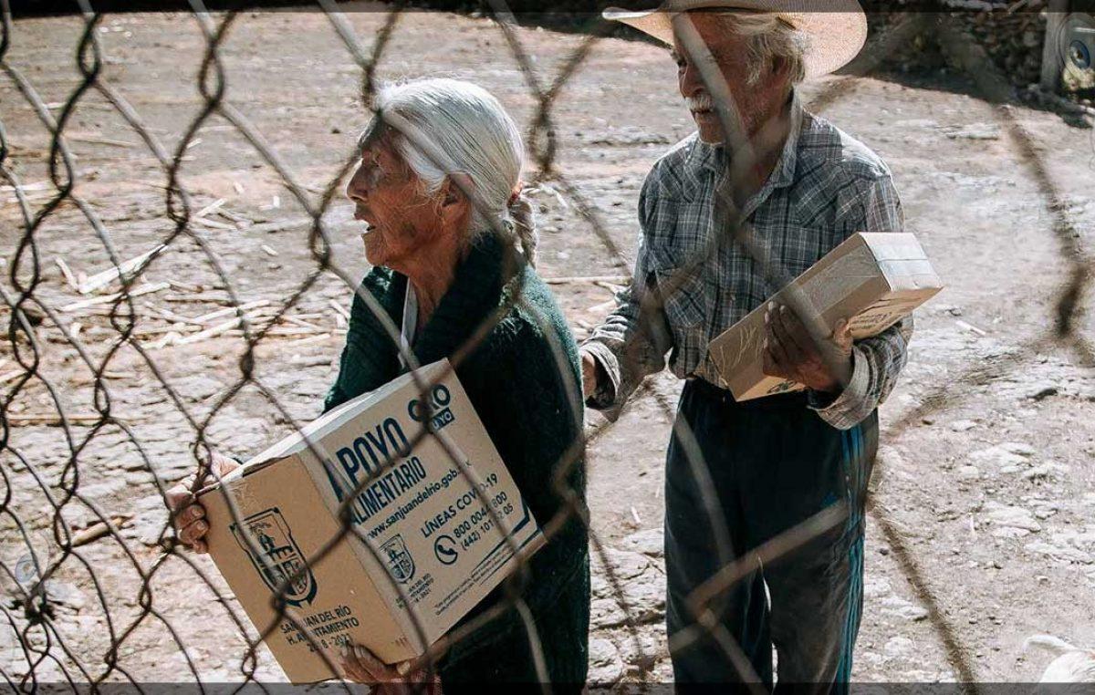 Más de 27 mil apoyos alimentarios se han entregado a familias: Memo Vega