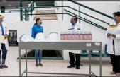 Entrega equipo de seguridad sanitaria a clínicas públicas y a la Cruz Roja en SJR