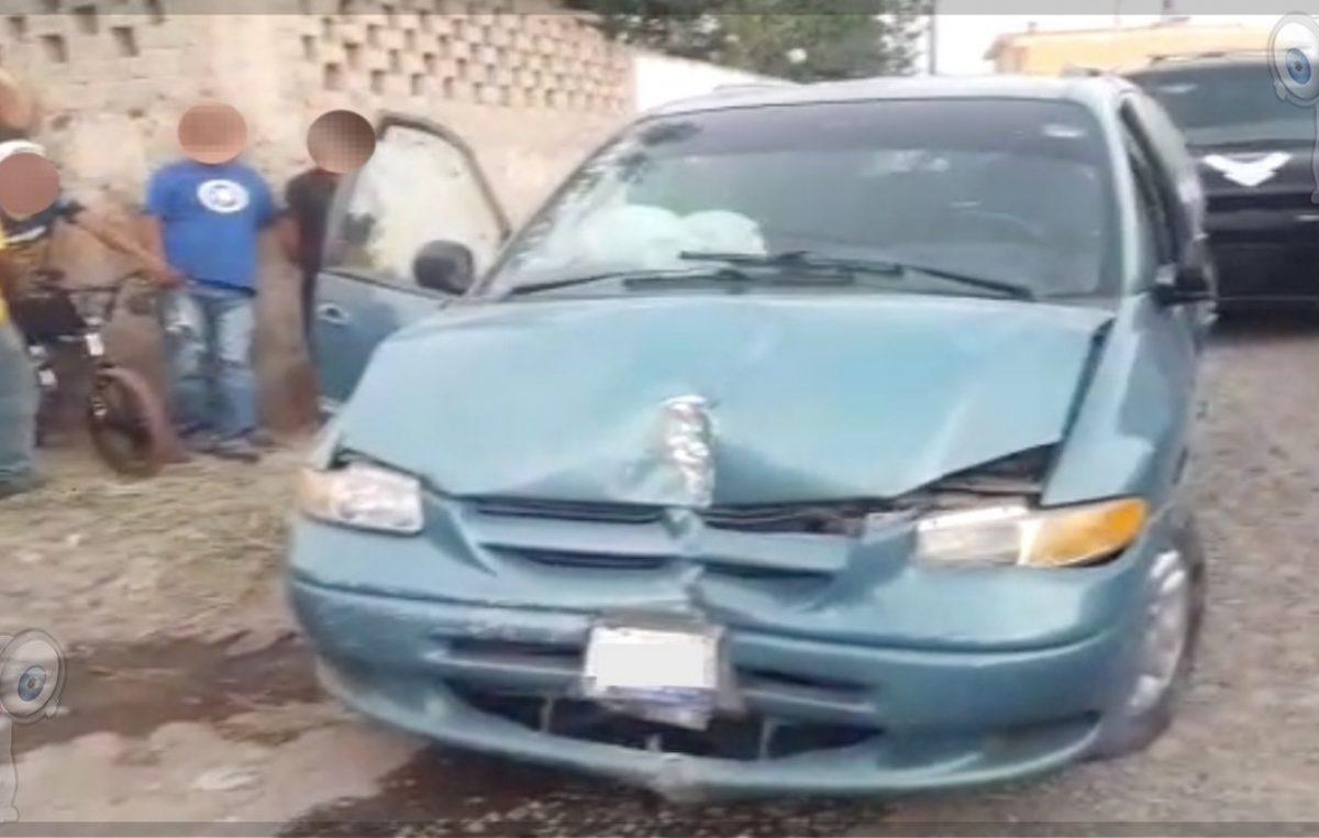Tras persecución detienen a sujeto con camioneta robada
