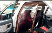 Comienza instalación de mamparas de protección sanitaria en taxis en SJR