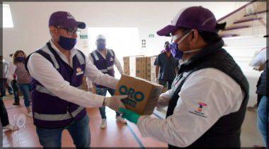 Logran mil 400 despensas más para familias de Tequisquiapan
