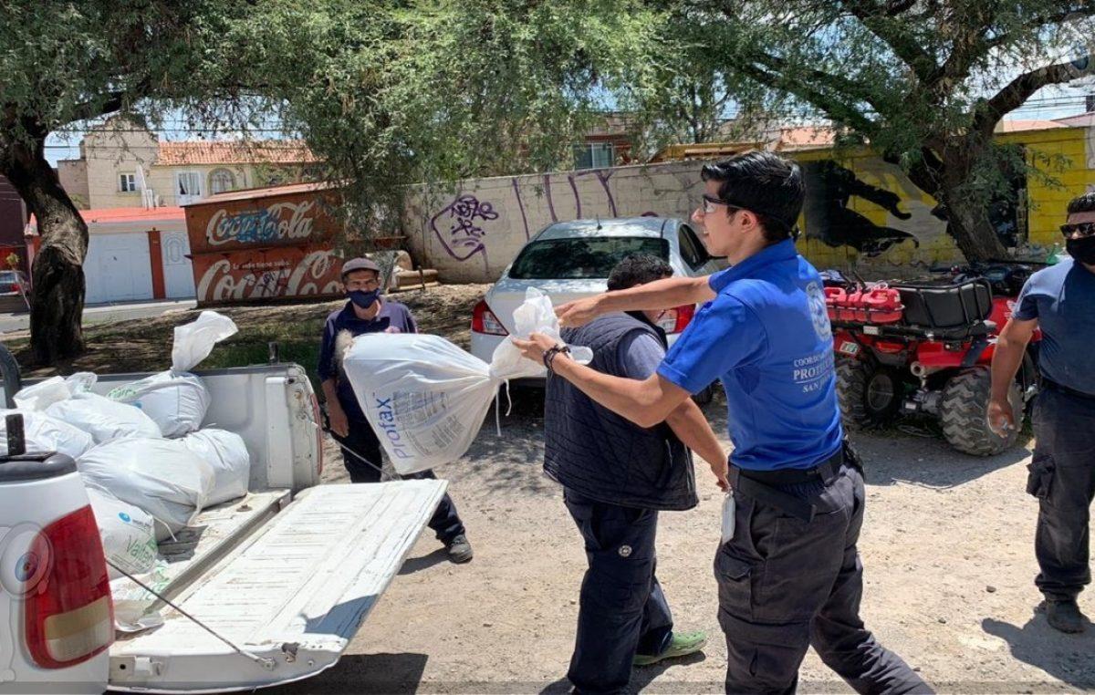 Gobierno de SJR dispondrá de costales para lluvias