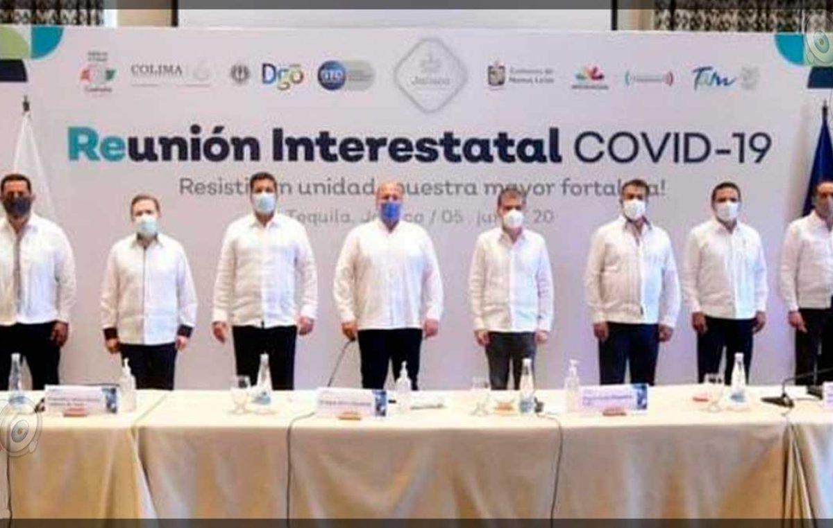 Gobernadores de 8 estados piden diálogo con AMLO, señalan estar solos ante COVID-19