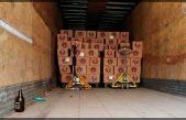 PoEs detiene cargamento con cerveza clandestina en Ezequiel Montes