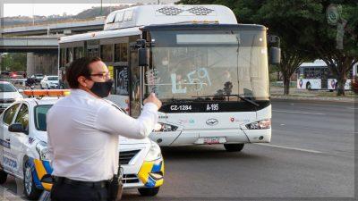 Intensifican operativos de prevención en el transporte público