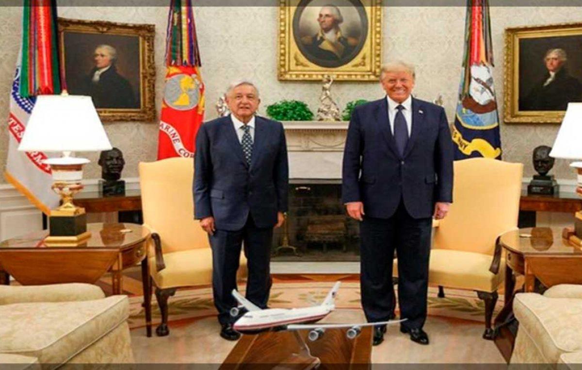 AMLO y Trump resaltan relación bilateral y respeto mutuo entre EE.UU. y México