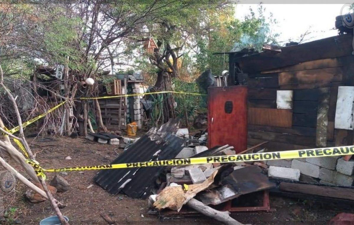 Muere joven calcinado al interior de vivienda en San Miguel Galindo