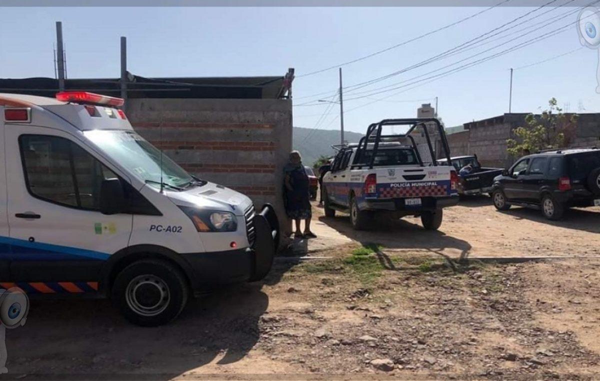 Fallece masculino en vía pública en La Valla