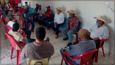 Recorren Jorge Luis Montes y Gilberto Herrera comunidades en SJR