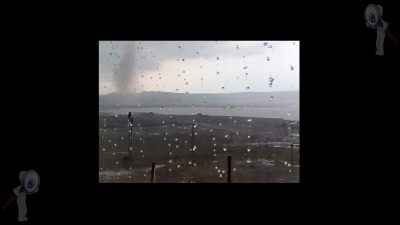 Captan ciudadanos, tornado en SJR (video)