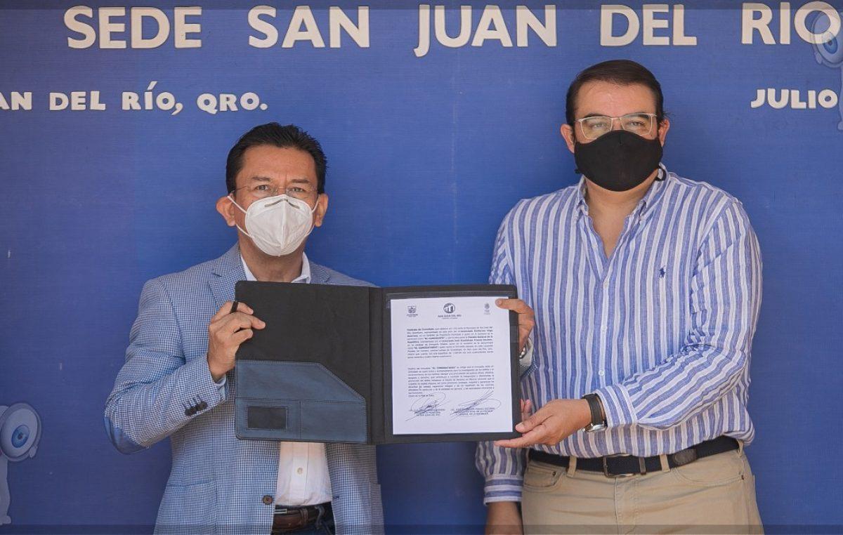 Entrega gobierno sanjuanense inmueble a la FGR