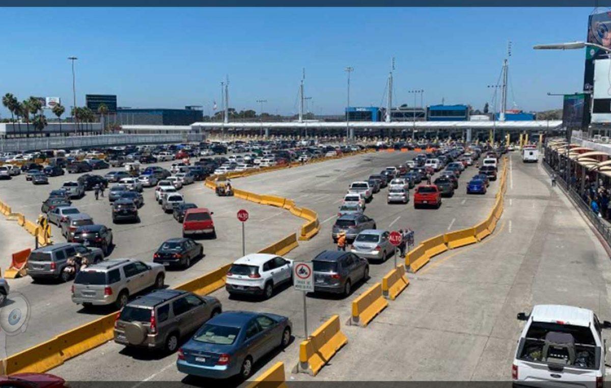 Extienden México y EU cierre parcial de frontera hasta el 21 de agosto