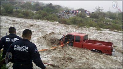 """""""Hanna"""" deja daños en tres estado del país"""