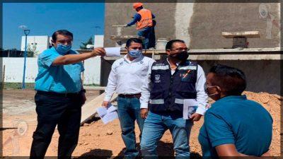 Avanza construcción de Guardería Municipal en La Rueda