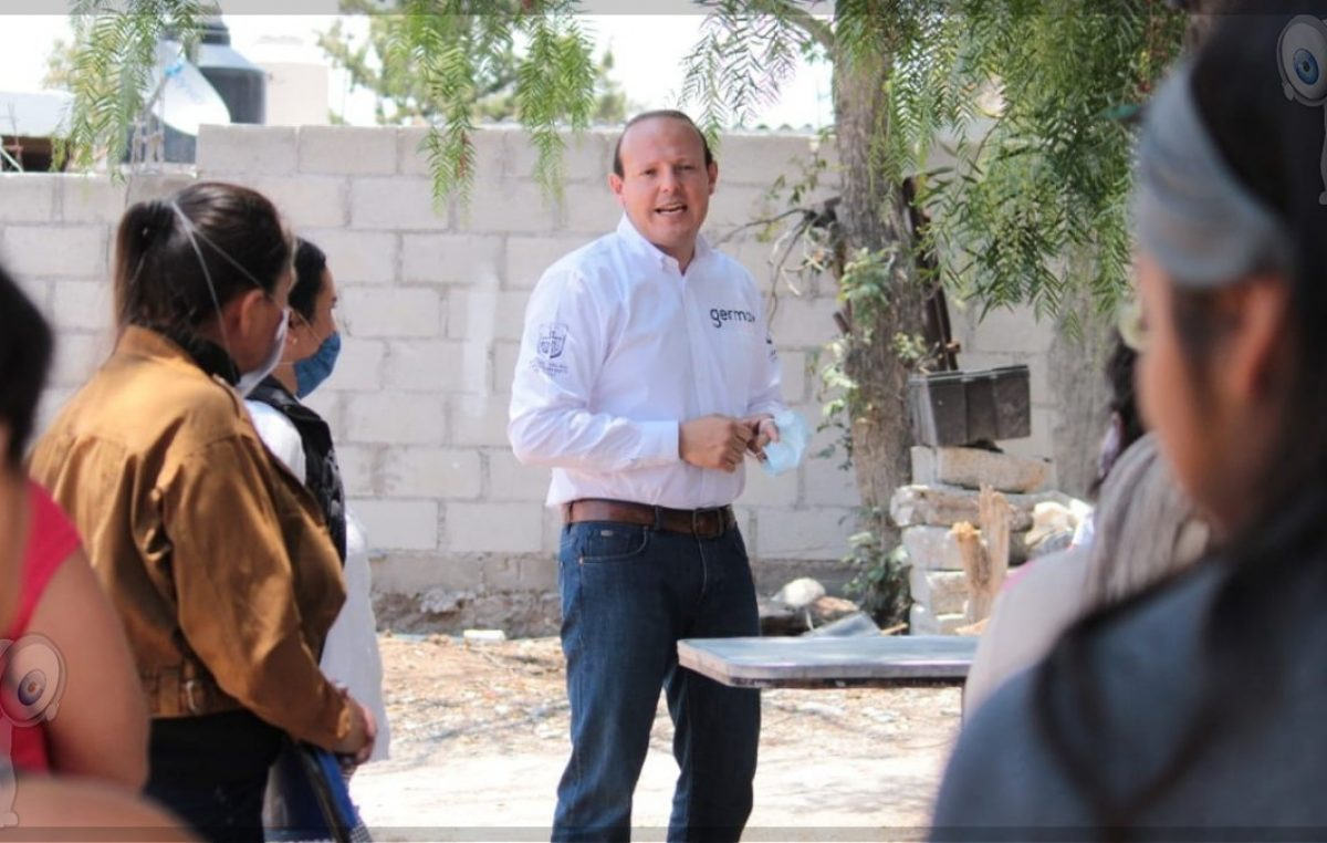 Refrenda Germain Garfias su compromiso con ciudadanos sanjuanenses