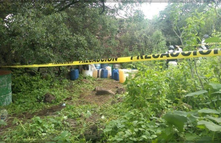 Aseguran 2 mil litros de combustible de toma clandestina en Pedro Escobedo