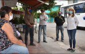 Entrega SMDIF de Escobedo apoyos alimentarios a adultos mayores