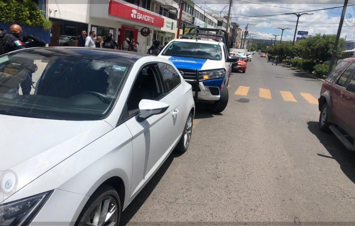 Detienen a sujeto con arma de fuego en bulevar Hidalgo