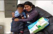 Encuentran a Dylan, el bebé robado en Chiapas