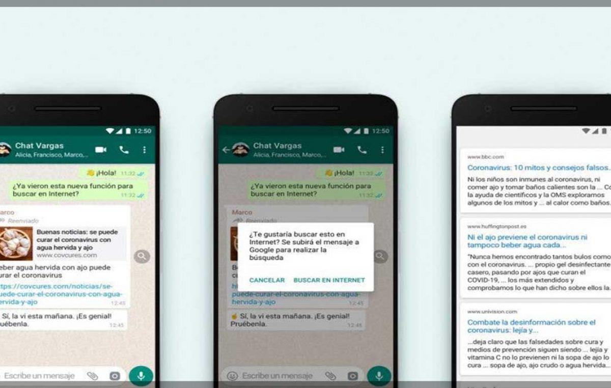 Evita los bulos: cómo verificar las noticias sospechosamente falsas que te envían por WhatsApp